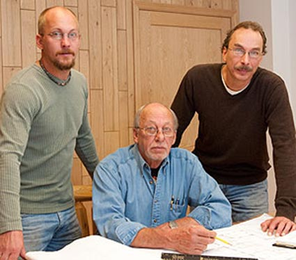 Schultz Building is a family owned and operated business with father Tom and sons Noel and Matt