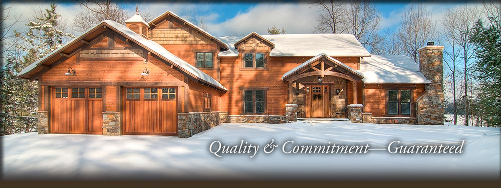 Commercial builder in Minocqua WI